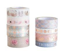Michaels Crafr Smart Planner Washi Tape Tube set - Serenity Swan Pink Gold