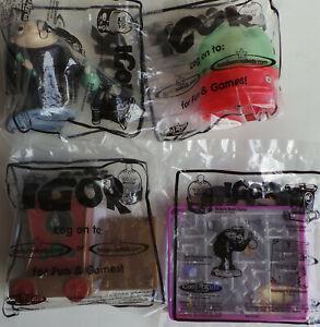 Carl's Jr Promotional Kids Igor Toys Set of 4.