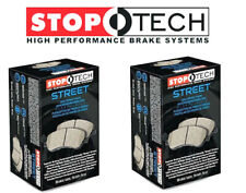 Stoptech Street Front + Rear Brake Pads 2010-2015 Chevy Camaro SS 6.2L
