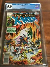 The X-Men #113 CGC 5.0 White Pages Classic Fight With Magneto Cover