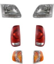 Ford F150 Truck Headlights Tail Lights And Side Marker Lamps 1997-2003 Set/6