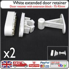 2x Viva Extended Door Retainer Catch Door Stay Clip - Leisure Vehicle Door Catch