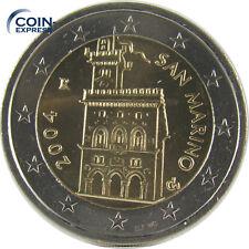 *** 2 EURO Münze SAN MARINO Auswahl aus diversen Jahren Kursmünze Coin ***