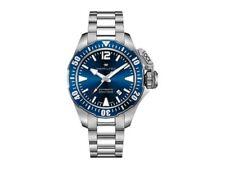 NEW HAMILTON KHAKI FROGMAN 42MM BLUE DIAL STAINLESS STEEL BRACELET H77705145