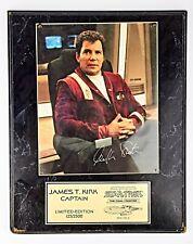 *Star Trek V The Final Frontier Memorabilia Signed by William Shatner