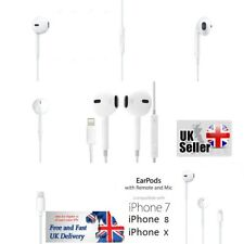 For Apple iPhone 7 8 X Lightning Headphone Earphones Ear-pods Handsfree With Mic