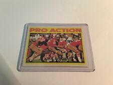 JOHN BRODIE TOPPS 1972 #124 UNGRADED NFL TRADING CARD