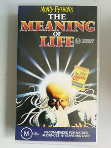 Monty Pythons The Meaning Of Life VHS Brand New In Plastic Classic UK Comedu