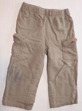 Baby Boy 24 Months 24M CARTERS Gray Cargo Pants Elastic Waist
