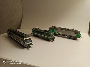 Locomotives echelle n sncf