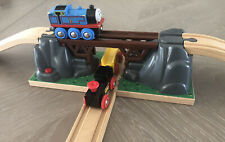 BRIO #33391 COLLAPSING BRIDGE for Wooden Railway Train fits Thomas & Friends Set