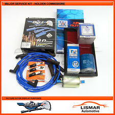 Major Service Kit for Holden Commodore VR, V6 3.8Ltr with Eagle Leads