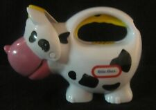 Little Tikes Black and White Cow Flashlight VINTAGE Hard to Find NO SOUNDS