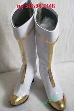 STAR DRIVER Takuto Tsunashi White cosplay Shoes Boots S008