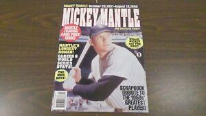 1995 Mickey Mantle Scrapbook Tribute Magazine