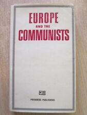 Good - EUROPE AND COMMUNISTS - Shakhnazarov, G et al. 1977-01-01   Progress Publ