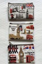 3x Pièce de monnaie Porte-monaie Bourse Londres Angleterre anglais Royaume-Uni