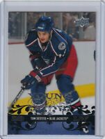 TOM SESTITO YOUNG GUNS ROOKIE Card 2008 09 UPPER DECK #215 COLUMBUS BLUE JACKETS