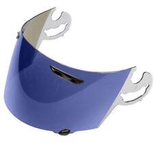 VISIERA IRIDIUM BLU CASCO ARAI  HELMET SUPER ADSIS L-TYPE MIRRORIZED BLUE VISOR