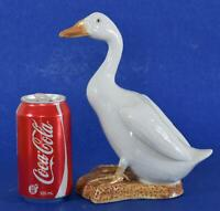 Antique Chinese Porcelain White Duck circa 1890-1921 China Mark Qing / Republic