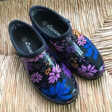 Sloggers 5116FP09 Flower Power Women's Rain and Garden Shoe, Size 9