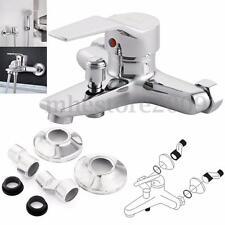 Bathroom Tub Shower Faucet Wall mount shower head Spray faucet valve Mixer Tap