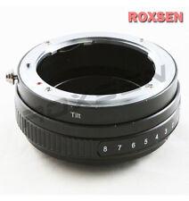 Macro Tilt Nikon F AI-S AF Lens to Nikon F Mount Adapter D4 D750 D610 D810 D7100