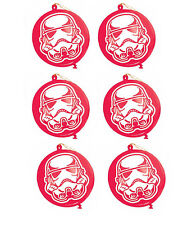 Star Wars Party Supplies 6 Stormtrooper PUNCH BALLOONS Genuine