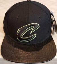 bc05593db57 Cleveland Cavaliers Pro Standard NBA Custom Strapback Cap Black Brand New!