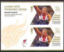 GB 2012 Paralympics/Olympics/Sport/Gold Medal Winners/Hannah Cockroft  2v n36314
