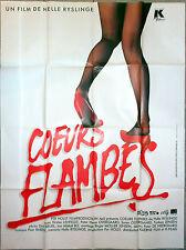 Affiche COEURS FLAMBES Helle Ryslinge KIRSTEN LEFHELDT 120x160cm