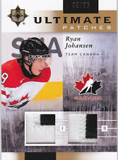 11-12 UD Ultimate Ryan Johansen 35/35 Dual PATCH Team Canada PATCHES 2011