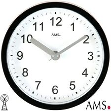AMS 41 OROLOGIO PARETE/Orologio da tavolo Radio,Nero SAUNA Quarzo Impermeabile
