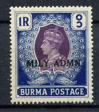 Burma 1945 SG#47 1r KGVI Optd Mily Admn MNH #C92