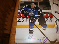 SHEA THEODORE SEATTLE THUNDERBIRDS ANAHEIM MIGHTY DUCKS SIGNED 8 X 10 PHOTO (4)