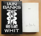Whit, Iain Banks (Hardback, 1995) FIRST EDITION, SIGNED
