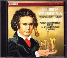 CANADIAN BRASS BEETHOVEN Symphony 5 Wellington's Victory Egmont Georg TINTNER CD