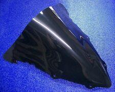 CUPULA DE DOBLE BURBUJA EN NEGRO PARA YAMAHA R6 YZF 600 03 04 05 2004 2005 2003
