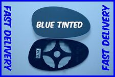 FITS BMW M3 E46 COUPE 2001-2006 DOOR MIRROR GLASS CONVEX  BLUE TINTED HEAT RIGHT