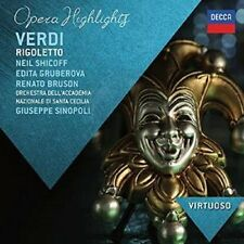 Verdi: Rigoletto - highlights [Audio CD] - SIGILLATO