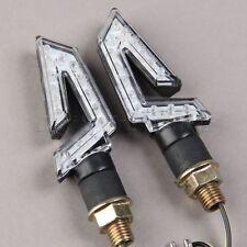12V Motorcycle Amber LED Turn Signal Blinker Indicator Light for Kawasaki Honda