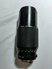Vivitar 80-200mm 1:4.5 55mm Macro Focusing Zoom Lens - Japan