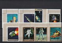 Republic of Burundi Space Exploration Cancelled Stamps ref R 18536