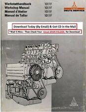 Deutz Werkstatthandbuch für Diesel Motor F1L410D FL 410 .