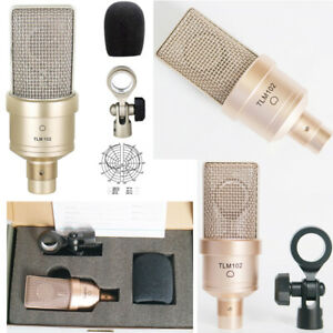 TLM Condenser 102 Cardioid Microphone Recording Broadcasting Stage Performance