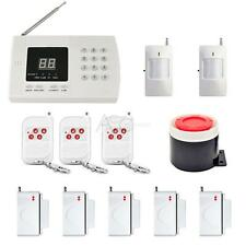 433MHz Wireless PSTN PIR Home Security Burglar Alarm System Auto Dialer SMS Call