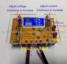 10A DC-DC Ajustable CC CV Reductor Módulo de Fuente de alimentación LCD Pantalla Dual + Estuche