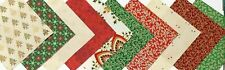 HALF CHARM PACK Christmas Morning Fabric Pack - 20 pieces 10 designs