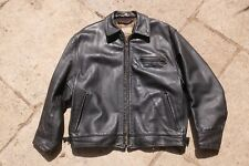 Aero Highwayman Steerhide Vintage Leather Jacket Size 44