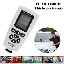 Handheld EC-770 Coating Film Paint Thickness Gauge Meter Tester Tool 0-1300um